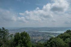 View from Uetliberg, Zurich, Switzerland