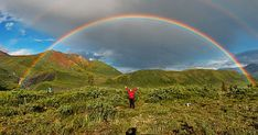 """And finally an amazing rainbow photo so you can check we got the colours right! This stunning double-rainbow was shot in the St Elias National Park in Alaska. Weather Science, Weather Experiments, Rainbow Photography, Amazing Photography, Nature Photography, Science Projects For Kids, Science Ideas, Kid Projects, Science Fair"