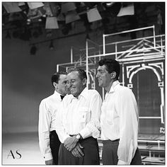 Dean and Frank with Bing Crosby