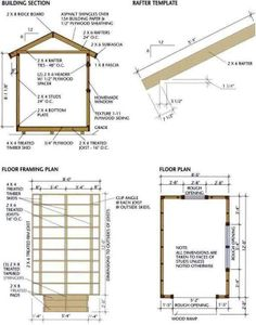 diy shed construction plans