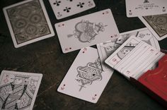 Misc. Goods Co. 2nd Edition Deck Red. American designed and made playing cards. $15