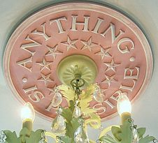 Ceiling medallions for children's rooms