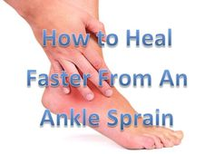 Almost everyone does the wrong things to treat an ankle sprain!