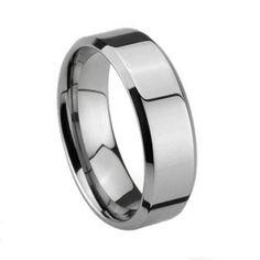 Fashion Tungsten+Titanium Ring  Price:$94.00--Groom's ring