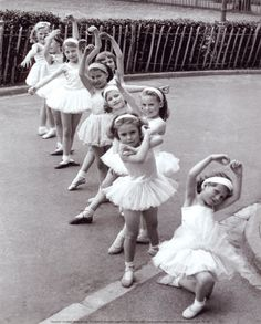 Cute little ballerinas
