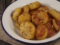 Cartofi fondanti la cuptor