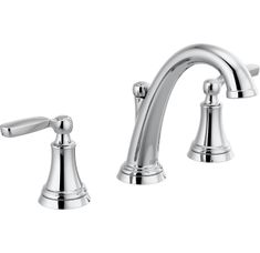 Buy the Delta Chrome Direct. Shop for the Delta Chrome Woodhurst GPM Widespread Bathroom Faucet with Drain Assembly Included - Limited Lifetime Warranty and save. Glass Vessel Sinks, Vessel Sink Bathroom, Widespread Bathroom Faucet, Lavatory Faucet, Bathroom Faucets, Master Bathroom, Bathroom Plumbing, Remodel Bathroom, Small Bathroom