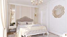 Design Interior Apartament în stil Neoclasic, Complex VallettaCreativ Interior Interior Design, Mirror, Bedroom, Furniture, Home Decor, Nest Design, Decoration Home, Home Interior Design, Room Decor