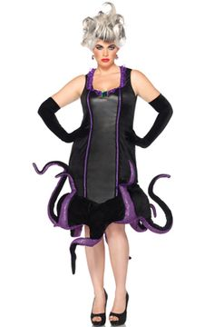 Disney Villains Ursula Plus Size Costume  Halloween  disney  villains   ursula  halloween fdd5cc4b4