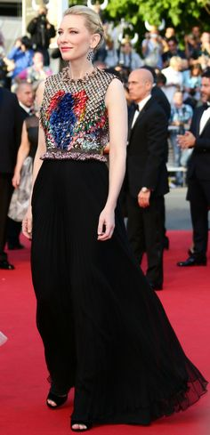Cate Blanchett in Givenchy #Cannes2014