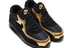 http://SneakersCartel.com Metallic Gold Shines On The Nike Air Max 90 Essential #sneakers #shoes #kicks #jordan #lebron #nba #nike #adidas #reebok #airjordan #sneakerhead #fashion #sneakerscartel http://www.sneakerscartel.com/metallic-gold-shines-on-the-nike-air-max-90-essential/