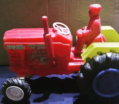 70-80 li yillar plastik türk oyuncagi Care Bears, Old Toys, Childhood Memories, Tractors, Monster Trucks, Vehicles, Instagram, Tractor, Car