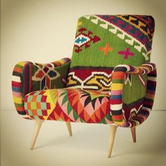 Photo by gibidesign - Anthropologie one of a kind chair