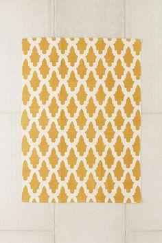 Magical Thinking Flourish Tile Printed Rug
