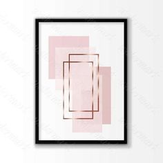 """Pink Rose gold geometric Printable poster, Scandinavian art, modern wall art. Digital Instant Download    Pink Rose gold geometric Digital Print file for printing a wall decor. No waiting and shipping fees. Just download, print and enjoy it!    This listing is for an INSTANT DOWNLOAD     you will get 5 files:    1.  8"""" x 10"""" jpg file  2. 11"""" x 14"""" jpg file  3. 16"""" x 20"""" jpg file  4. 18"""" x 24"""" jpg file    5.  jpeg - can be printed and sized to any dimensions up to 22x28   inches    *** BUY 2…"""