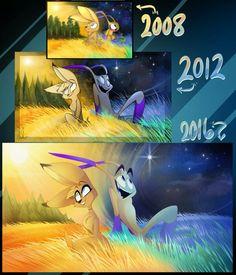 Zill and Kayla evolution <3