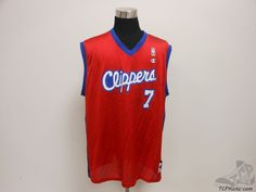 Vtg 90s Champion Los Angeles Clippers Lamar Odom Basketball Jersey sz 48 XL #Champion #LosAngelesClippers