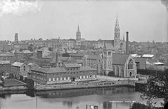 General View, Drogheda, Co. Louth by French, Robert, photographer Published / Created: [between ca. Dublin, Old Photos, Paris Skyline, Ireland, Irish, French, Travel, Old Pictures, Viajes