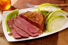 Corned beef brisket and tender cabbage are together again in this succulent classic. No need to wait until St. Patrick's Day to serve it.