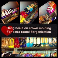 ways to organize shoes