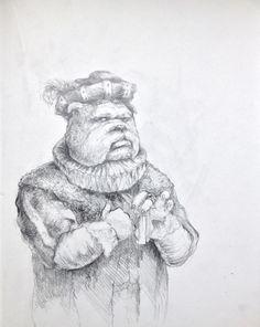 dog #sketch #illustration #traditional