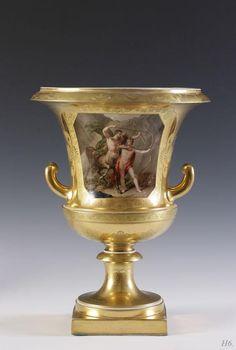 URN. 1826. Vienna porcelain. http://hadrian6.tumblr.com