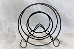 Vintage Wire Napkin Holder  Metal Letter by TheRunningRooster