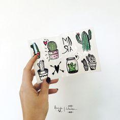 Tattoo Cactos - Amanda Mol | Loja