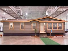 World's Most Beautiful Manufactured Homes Prairie View from Champ. Tiny House Big Living, Long House, My House, Mobile Home Exteriors, Modular Homes For Sale, Mobile Home Doublewide, Mobile Home Living, Foreclosed Homes, Park Homes