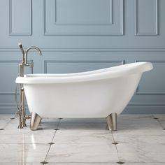 Clawfoot Tub And Shower Package 54 Inch Cast Iron Randolph Morris Nice Turnkey Bathroom Pinterest Tubs