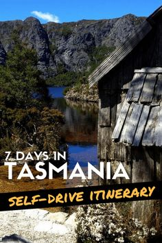 Road Trip in Tasmania: Self-Drive 7-Day Itinerary for Nature Lovers #tasmania #australia #roadtrip