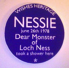 Wishes Heritage Plaques °001 Nessie