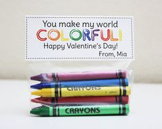 PRINTABLE Personalized Valentine Treat Topper - Classroom Valentine
