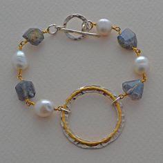 Wrapped in Gold Bracelet - Elizabeth Plumb Jewelry