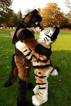 GAH THESE CUTE FURRIES <3 such a cute couple of furries