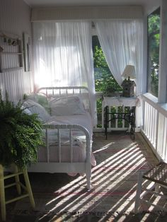 Beautiful sleeping porch