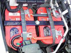 Kilby Dual Battery Tray