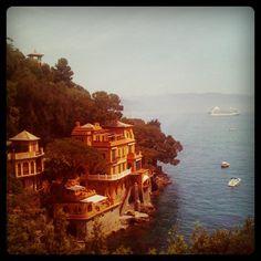 At #Portofino #italy #sea #ligure #photooftheday #santa_margherita #clouds #sky - @hatef- #webstagram