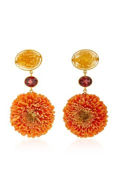 Garnet Earrings by Bahina | What to Wear on Vacation