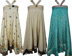 Mogul Womens Recycled Sari Magic Wrap Around Long Skirt W... https://www.amazon.com/dp/B077XD1Y27/ref=cm_sw_r_pi_dp_U_x_uHqkAb8FGD185