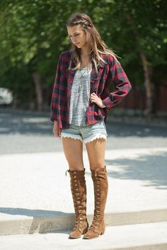 Bohemian style, love the outfit,  hate the shoes