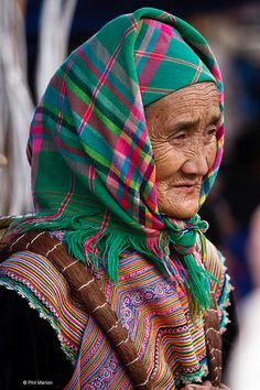 Flower Hmong woman - Bac Ha, Vietnam | Flickr - Photo Sharing!