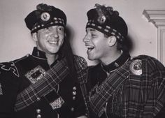 Young Dean Martin & Jerry Lewis. -You could say that again! They are so small, and young!!