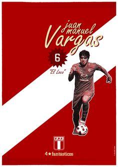 Juan Manuel Vargas peruvian soccer player // http://cargocollective.com/doubleview