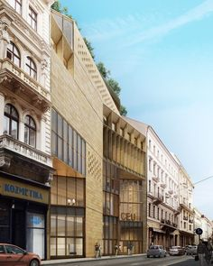 Gallery - O'Donnell + Tuomey's Central European University In Budapest Breaks Ground - 12