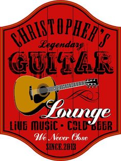 Pub Sign Headquaters: Wood pubs signs, Custom Barrel Heads and personalized signs for every occasion. The Perfect Sign sells wood pub signs and personalized gifts. Pub Signs, Wood Signs, Personalized Wooden Signs, Music Signs, Blue Lounge, Music Decor, Wood Bars, Bars For Home