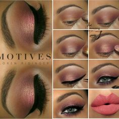 Hi Sweeties  Here is a Step by Step for the last look♡ All details  can be found in the previous post❤ @motivescosmetics #motivescosmetics