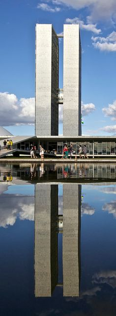 National Congress of Brazil - Brasilia