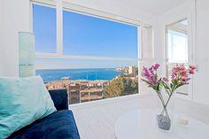 Nybyggd takvåning med panoramautsikt över havet i Cala Major