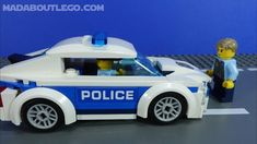 LEGO City Police Chase McCain Lego City Police, Police Cars, Brand Stickers, Brick, Fun, Games, Bricks, Hilarious